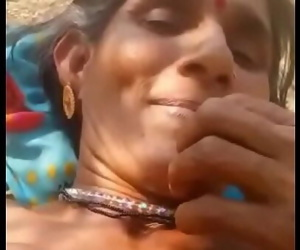 Desi village aunty pissing..